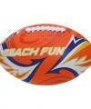 Strand rugbybal oranje 27