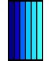 Strandlaken happy blue 95 100 bij 175