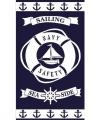 Strandlaken sailing 95 100 bij 175