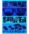 Strandlaken urban surfer 140 bij 200