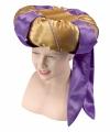 Sultan hoed goud paars