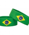 Supporter armband brazilie