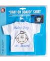 T shirt baby on board jongen in de auto