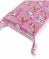 Tafelzeil kitsch roze 140 bij 240