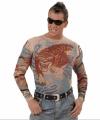 Tattoo shirt tijger draak