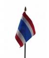 Thailand mini vlaggetje op stok 10 bij 15