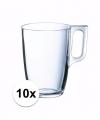 Theeglazen bekers 10 stuks 320 ml