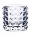 Theelichthouder lyon lichtblauw glas 10