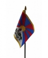 Tibet mini vlaggetje op stok 10 bij 15