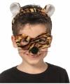 Tijger masker tiara kinderen