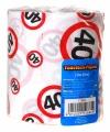 Toiletpapier een 40 jarige