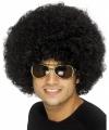 Toppers afropruik zwart