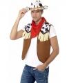 Toppers cowboy verkleed set heren