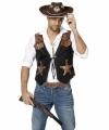 Toppers cowboy vestje heren