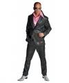 Toppers disco kostuum heren zwart