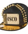 Toppers disco pet gouden spikes