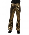 Toppers glimmende gouden disco broek