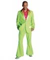 Toppers groen jaren 70 kostuum heren