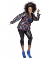 Toppers grote maat disco jas vrouwen