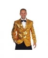 Toppers luxe gouden colbert