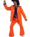 Toppers oranje heren kostuum