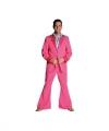 Toppers roze 70 s kostuum heren