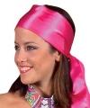 Toppers roze hoofd sjaal