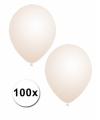 Transparante ballonnen 100 stuks 10067250