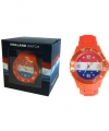 Trendy holland horloge oranje heren
