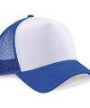 Truckers cap blauw wit volwassenen