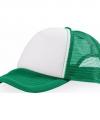 Truckers cap groen wit