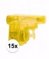 Uitdeel speelgoed waterpistooltjes 15x