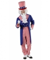 Uncle sam kostuum heren