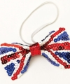 Union jack engelse pailletten strik