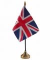 Union jack tafelvlaggetje 10 bij 15 standaard