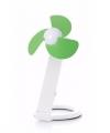 Usb bureau ventilator wit groen 22