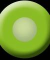 Uv flits party lenzen groen