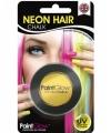 Uv haarkrijt geel