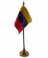 Venezuela tafelvlaggetje 10 bij 15 standaard