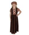 Victoriaans straatkindje kostuum meisjes
