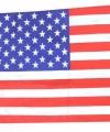Vlag amerika 60 bij 40
