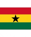 Vlag ghana 90 bij 150