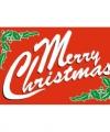 Vlag merry christmas 90 bij 150