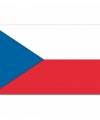 Vlag tsjechie 90 bij 150