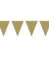 Vlaggenlijn xl goud 10 meter