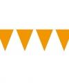 Vlaggenlijn xl oranje 10 meter