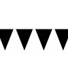Vlaggenlijn xl zwart 10 meter