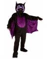 Vleermuis kostuum groot pluche masker