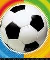 Voetbal servetten 25