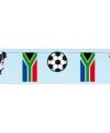 Voetbal slinger zuid afrika